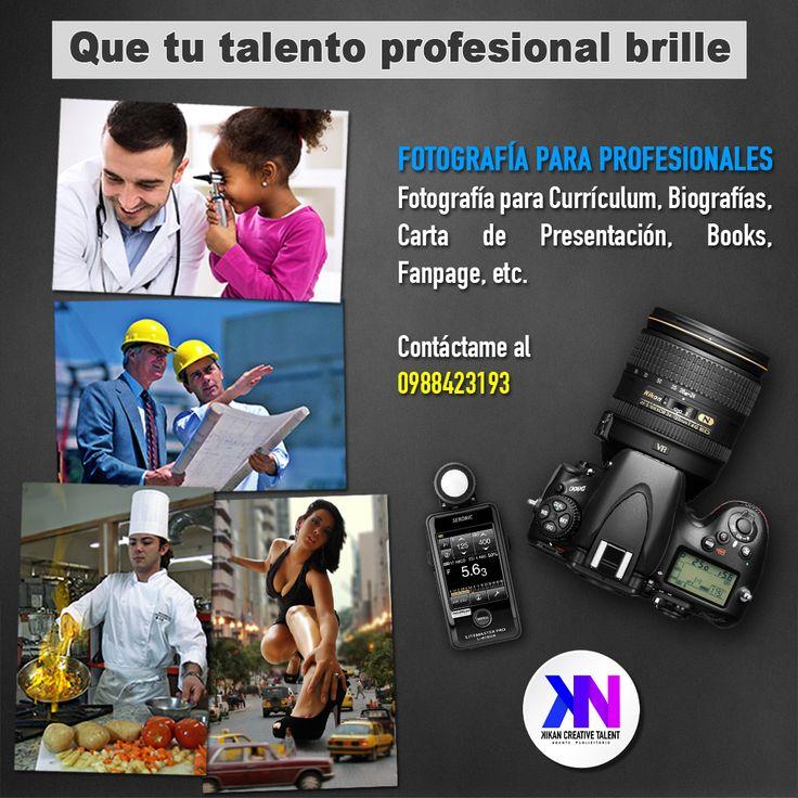 La fotografía que necesitas para tu hoja de vida, para tu carta de presentación, fanpage, etc. Atrae a tus clientes con fotografías atractivas aplicando tu profesión. Una buena imagen dice mas que mil palabras.  #Fotografía #Profesional #fanpage #Currículum  #Vítae #HojaDeVida #Profesionales #Doctores #Ingenieros #Modelos #Chef #Licenciados #Químicos #Biólogos #arquitectos #vendedor #agentes #políticos #Ecuador #Guayaquil