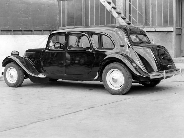 Citroën Traction Avant Commerciale 11, 1954–57