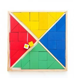 Large Triangle Puzzle Game (up to 4 players)