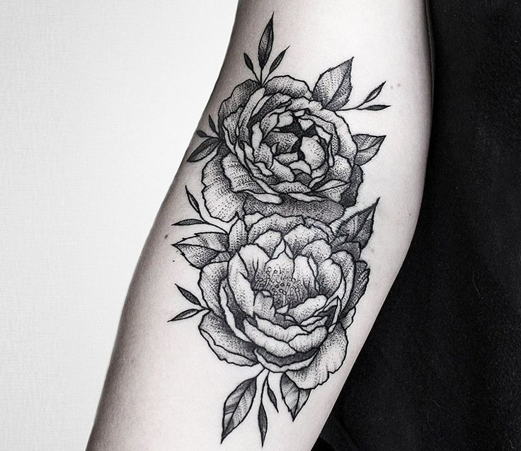 Flowers Tattoo by Luciano Del Fabro | Tattoo No. 13412