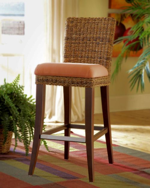 67 Best Images About Rattan And Wicker Bars And Bar Stools