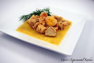 Honey Tangerine Chicken  http://www.carriesexperimentalkitchen.blogspot.com/