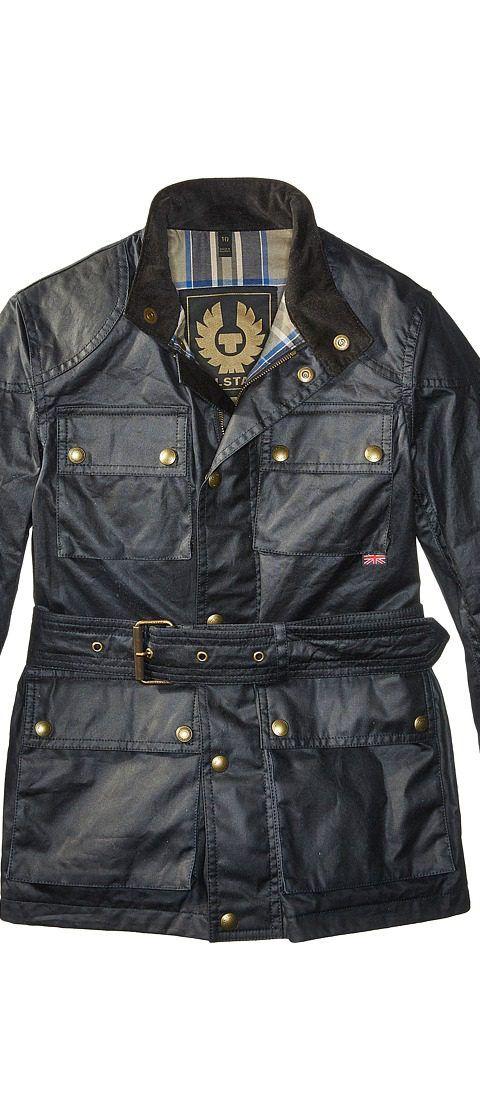 BELSTAFF Roadmaster Junior Jacket (Big Kids) (Dark Navy) Coat - BELSTAFF, Roadmaster Junior Jacket (Big Kids), 73050002, Apparel Top Coat, Coat, Top, Apparel, Clothes Clothing, Gift, - Street Fashion And Style Ideas