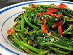Resep cara membuat tumis kangkung http://resep4.blogspot.com/2015/10/resep-tumis-kangkung-terasi-mantab.html masakan indonesia enak