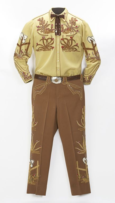 1950s Calgary Stampede Parade Suit (owned by Bill Herron) via Glenbow Museum.