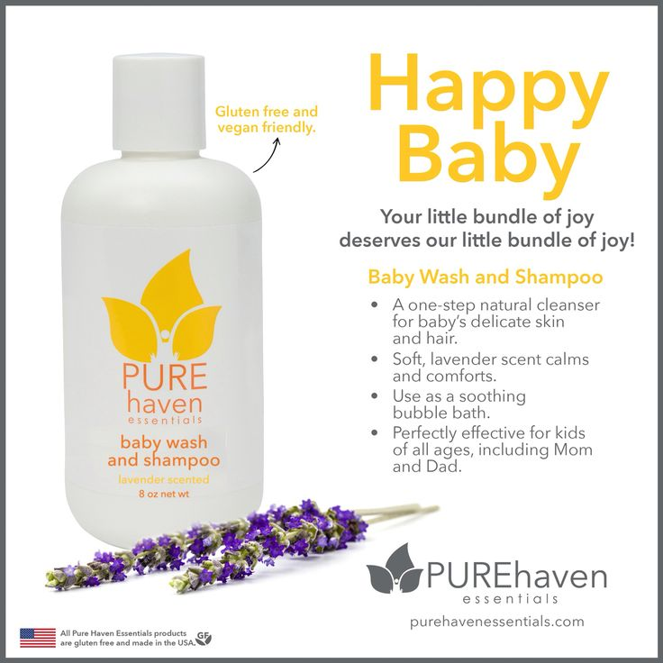 Pure Haven Essentials New Baby Wash And Shampoo Is Safe