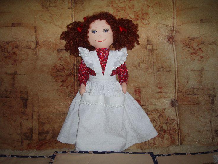 panenka do kuchyně s kapsami na vařečky