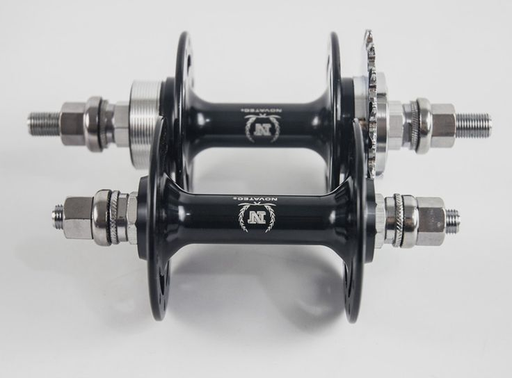 ==> [Free Shipping] Buy Best Novatec A165/A166SBT Fixed gear Flop-flip track bike hubs 20/2432/32 holes front rear black single speed bicycle alloy axle Online with LOWEST Price | 32504454886