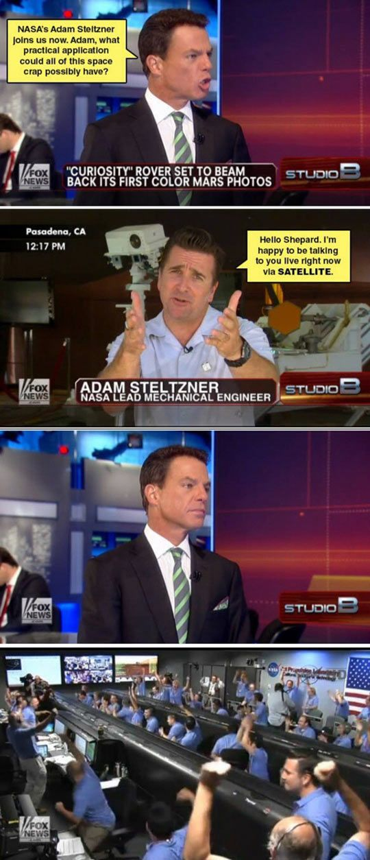Science vs Fox News in a pitifully unequal contest.