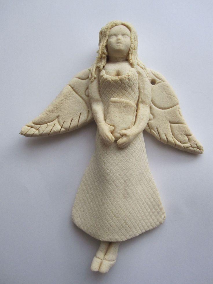 Anioł, stan surowy po wypieczeniu Masa solna