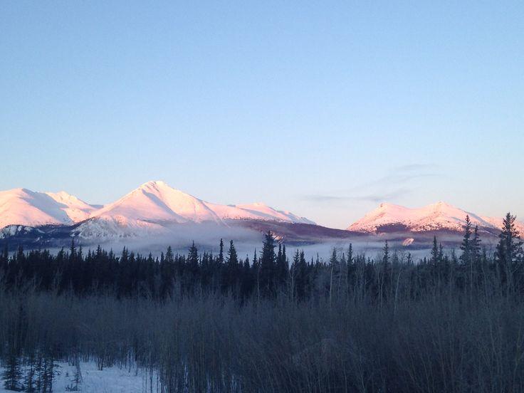 7 sisters mountain range Yukon Territory