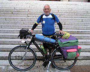 Guerrino from Verona, Italy, 69 years old, 18.000 km by bike around Europe!