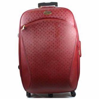malas de viagem primicia na cor vermelha