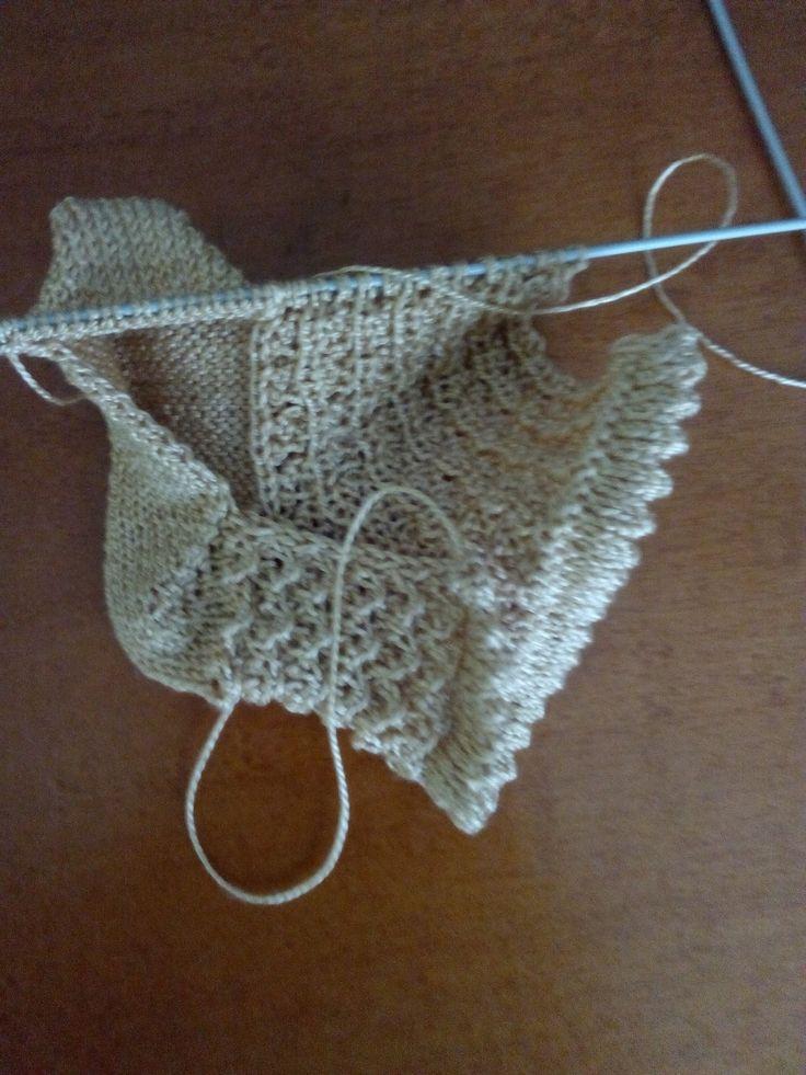 Las 25 mejores ideas sobre mante de croch de beb en - Como hacer calcetines de punto ...