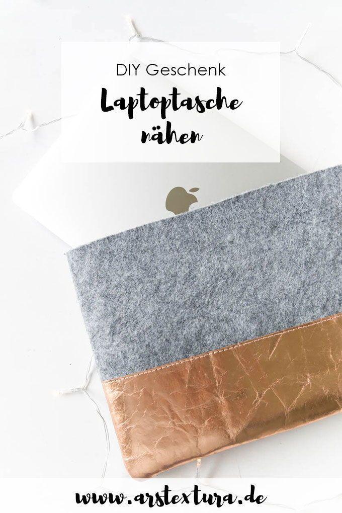 Einfache Laptoptasche nähen – #Einfache #Laptoptasche #macbook #nähen
