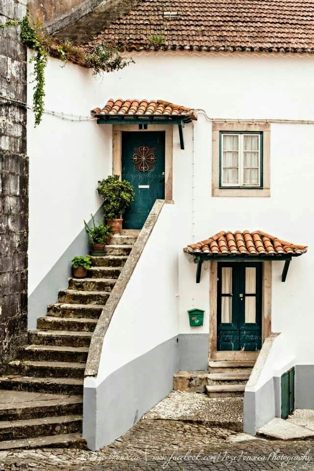 Typical house in romantic #Sintra,  Portugal  Can't wait to travel and live in a home like this