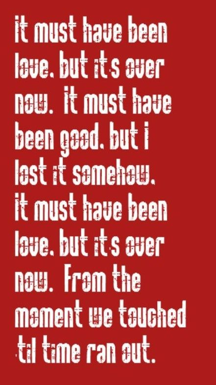 Roxette - Must Have Been Love -song lyrics- 80s- Music Love- songs you sing with the window rolled up-