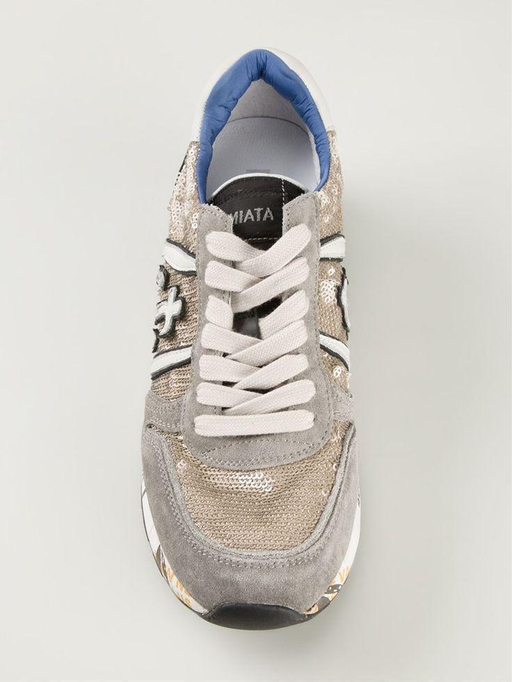 Premiata Sequin Embellished Sneakers - Eraldo - Farfetch.com