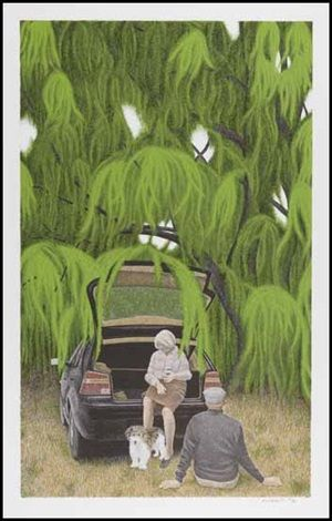 Willow by David Alexander Colville