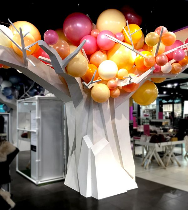 Topshop Oxford Street taken over by sculptural trees - Retail Focus - Retail Blog For Interior Design and Visual Merchandising