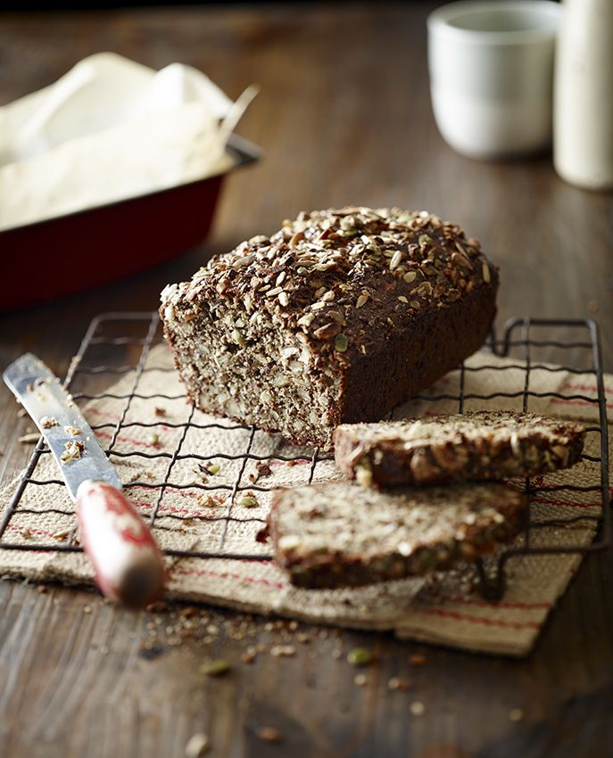 Seed and Nut Bread - Pete Evans. This is an amazing bread which is so filling!