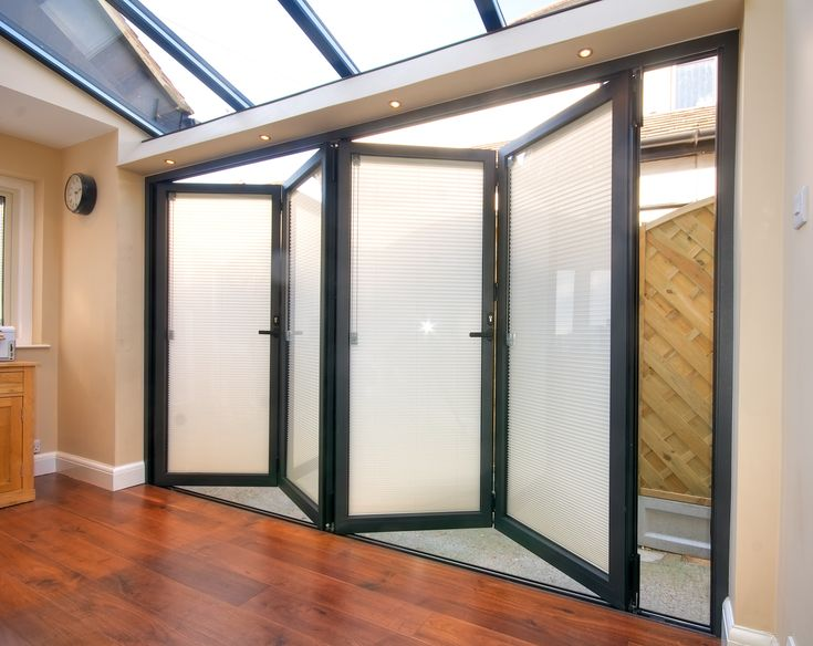 Uni Blind Integral Blinds Are Situated Inside The Double