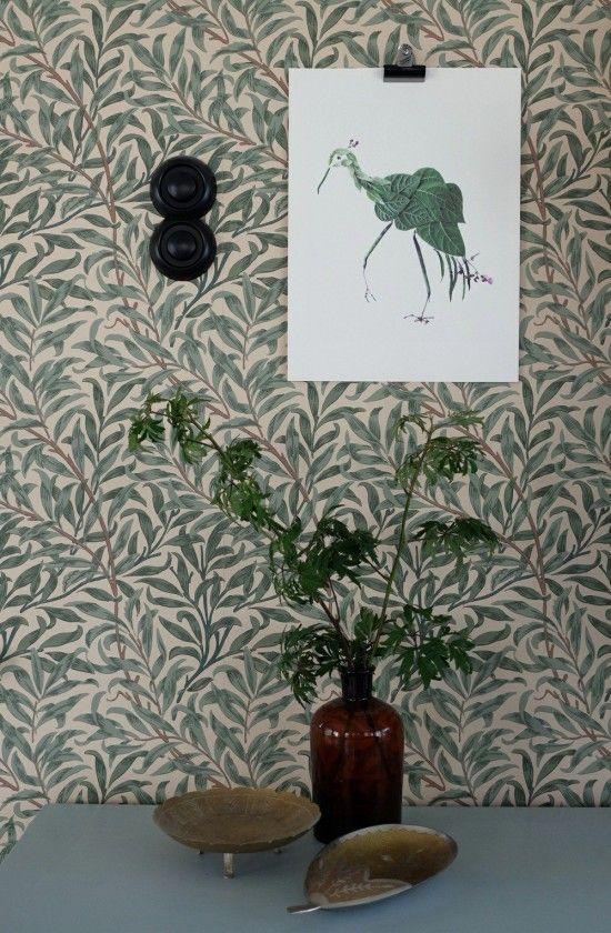 Bird Posters by Swedish pattern designer Emma von Brömssen // Avenue Lifestyle