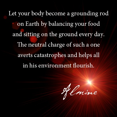 Becoming a grounding rod...