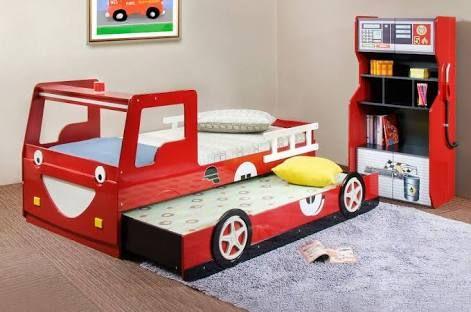 Image result for cama camion de bomberos