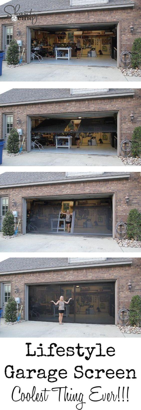 Garage Door Screen Ideas and Pics of Garage Doors Glass.
