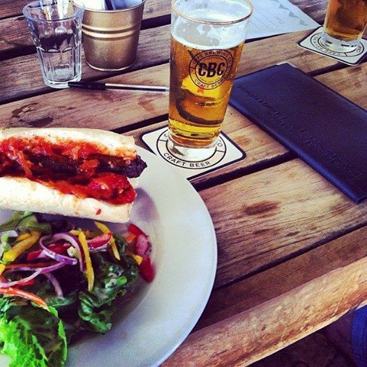 Enjoy a great brew and meaty meal at our lively Barley and Biltong Emporium. #SpiceRoutePaarl #BarleyandBiltong www.spiceroute.co.za