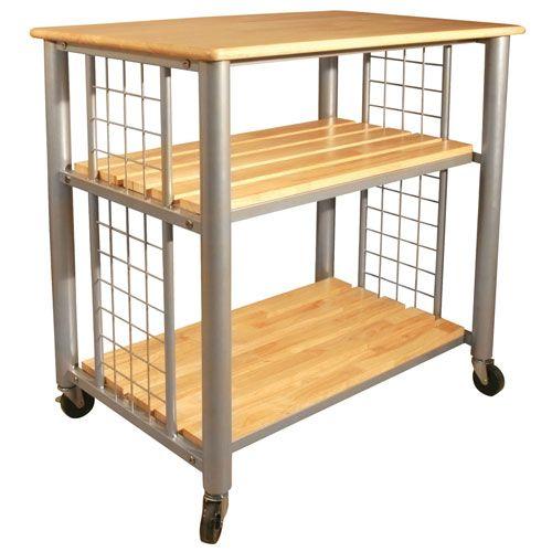 Contemporary Kitchen Cart Catskill Craftsmen Inc Serving & Utility Carts Kitchen Islands &