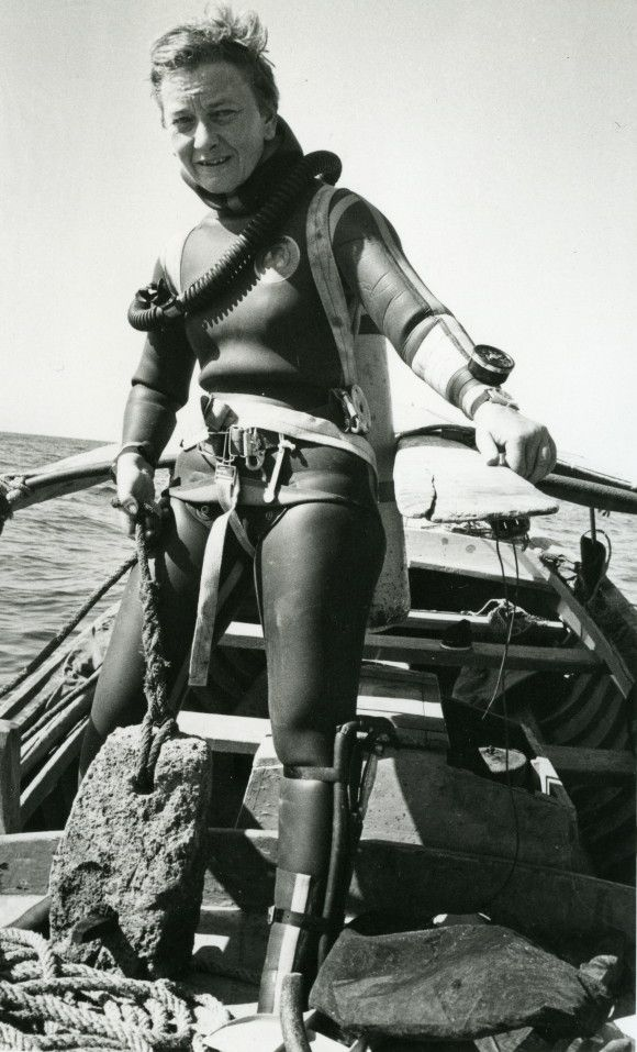 Honor Frost | Pioneer of Marine Archaeology, Find out more on TrowelBlazers.com!