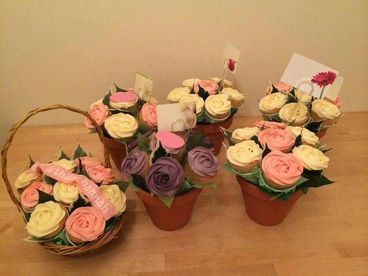 Vasetti di cupcakes