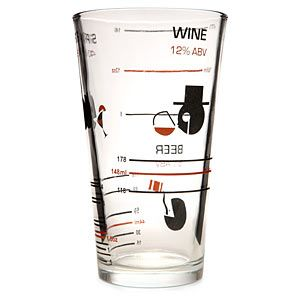 Alcohol By Volume Glass: Alcohol Volume Glass, Glasses, Accurately Measure, Adult Beverages, Glass Printed, Pint Glass, Alcoholic Drinks, Wine Beer Spirits, Measure Servings