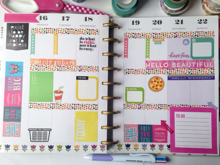 The Happy Planner.