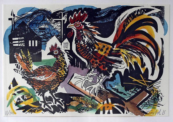 Mark Hearld - GODFREY & WATT Harrogate, North Yorkshire , specialising in British art