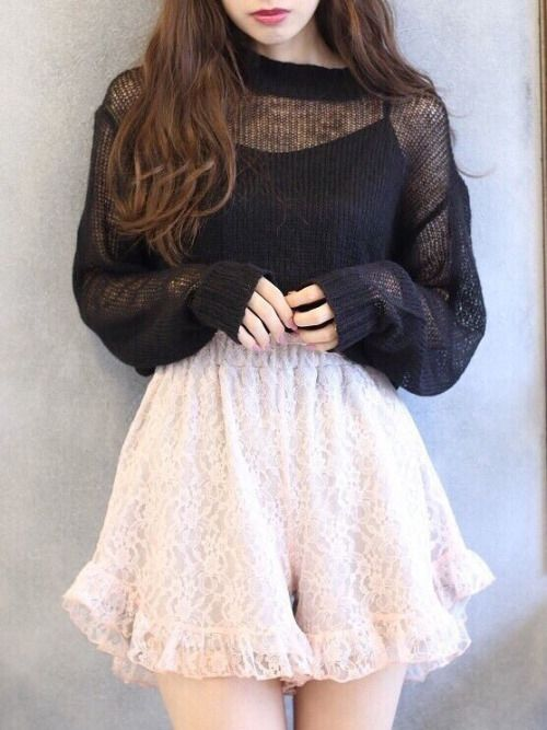 Devoted to japanese street fashion. Larme kei and soft pastels makes my heart…