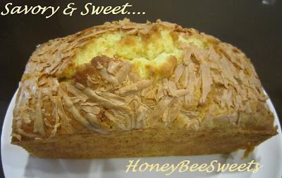 Honey Bee Sweets: Cheddar Cheese Butter Cake