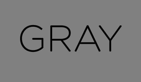 What Color Best Describes Your Inner Personality... I got GRAY! (BuzzFeed quiz)