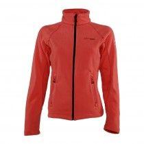 Erg mooi zalmkleurig fleece vest voor dames. Het dames fleece vest voelt heerlijk zacht aan, heeft een ritssluiting en open zakken op de heup  http://www.bjornson.nl/fleece-vest-dames-zalmkleurig-benthe.html