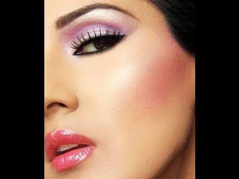 Bright Pink PurpleArab Makeup, Beautiful Makeup, Makeup Addict, Style Makeup, Makeup Bright, Skin Products, Beautiful Skin, Arabic Makeup, Beautyful Makeup