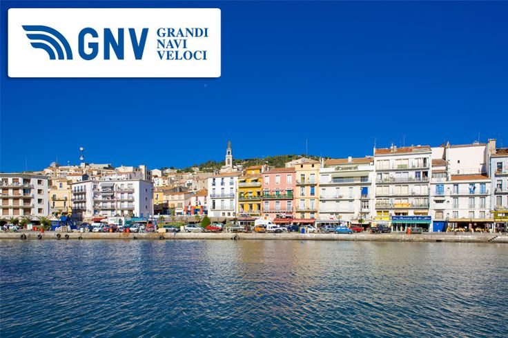 The beautiful waterfront of Sète, France, one of our destinations.   See this destination at http://www.gnv.it/it/destinazioni-traghetti/francia-sete.html