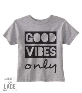 """Baby/Child/Adult """"Good Vibes Only"""" Onesie or T-Shirt,Cute Baby Oneisie, Cute toddler T-shirt,Cute Children T-Shirt by LavenderAndLaceByLV on Etsy https://www.etsy.com/listing/206107996/babychildadult-good-vibes-only-onesie-or"""