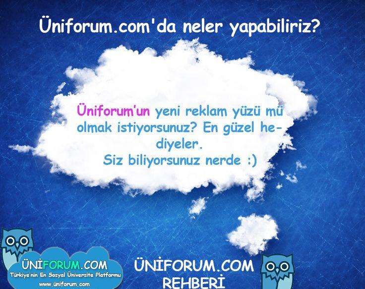 #üniforum Türkiye'nin en sosyal üniversite forumu  www.üniforum.com