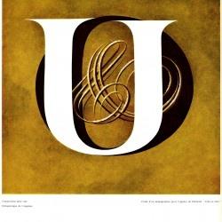 Vintage Monogramme Excoffon Urbi & Orbi