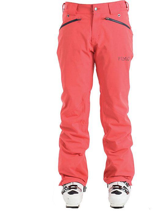 Flylow Daisy Pant - Women's Ski Pants - Snow Pants - Pink