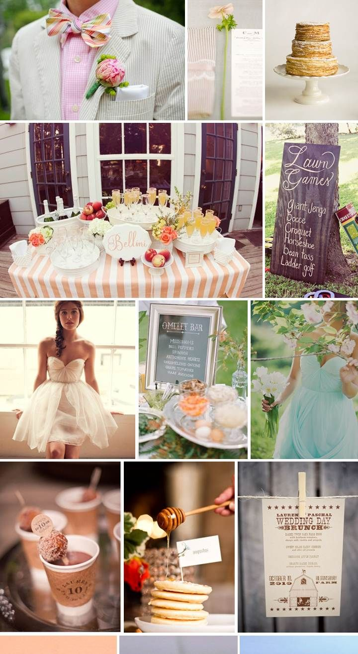 Start Your Morning Off Right By Drooling Over This Totally Delicious  Inspiration Board Perfect For A Brunch Time Wedding! I Absolutely Love The  Idea Of ...