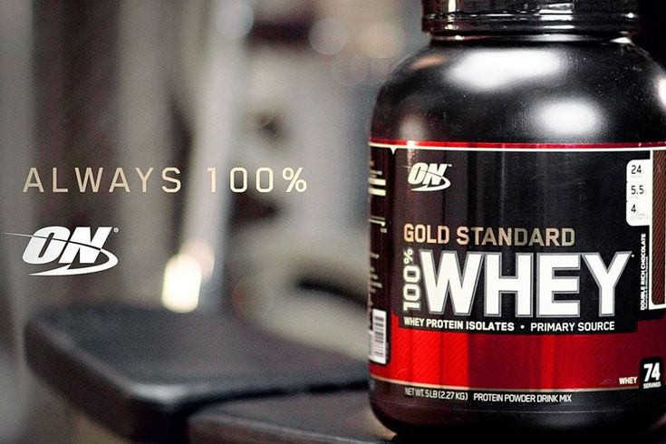 Gold Standard Whey Featured