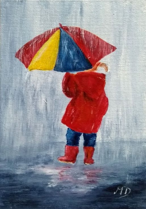 Buy Me and My Umbrella, Acrylic painting by Margaret Denholm on Artfinder. Discover thousands of other original paintings, prints, sculptures and photography from independent artists.